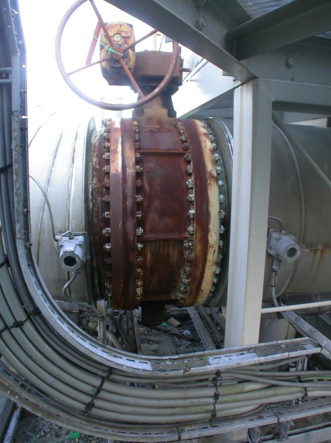 Mongstad Refinery original valve