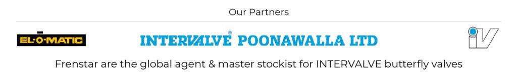 Frenstar are the global agent & master stockist for Intervalve butterfly valves