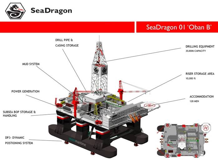 SeaDragon Oban B. Frenstar provided high performance butterfly valves.