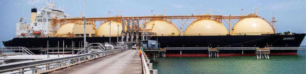 LNG carrier. Frenstar provided shutdown butterfly valves to Atlantic LNG in Trinidad & Tobago